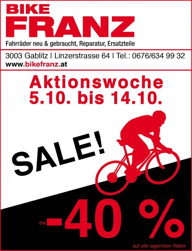 Bike Franz Aktionswoche